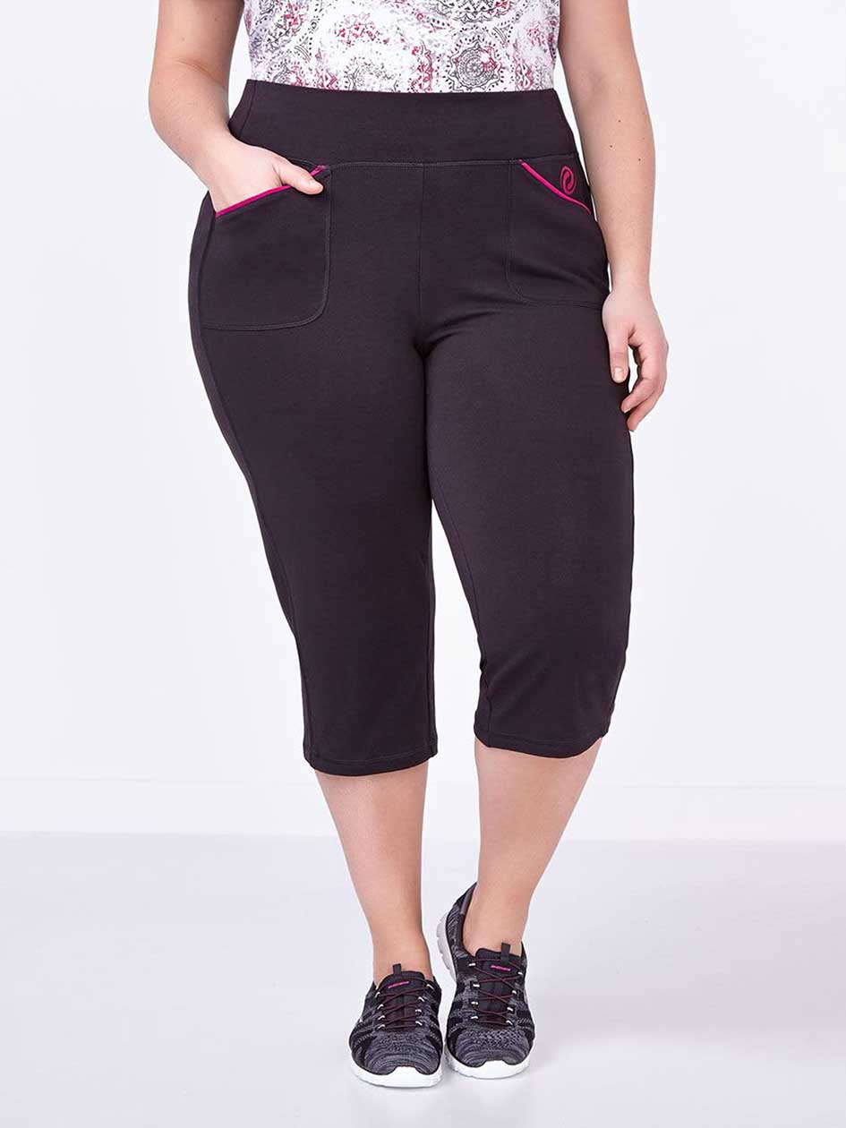 Essentials - Capri de yoga taille plus