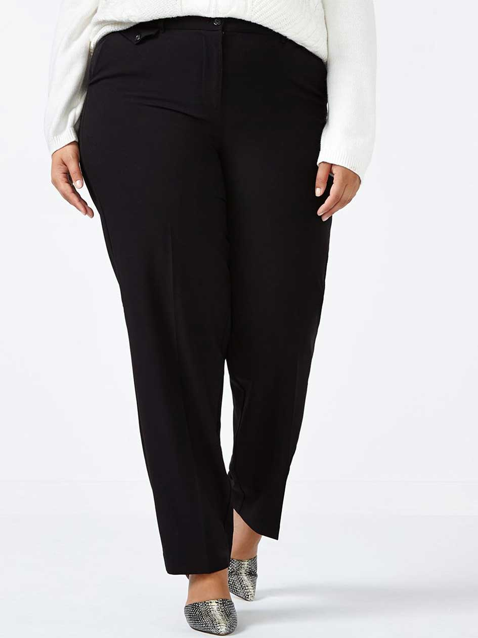 ONLINE ONLY Tall Slightly Curvy Fit Straight Leg Pant