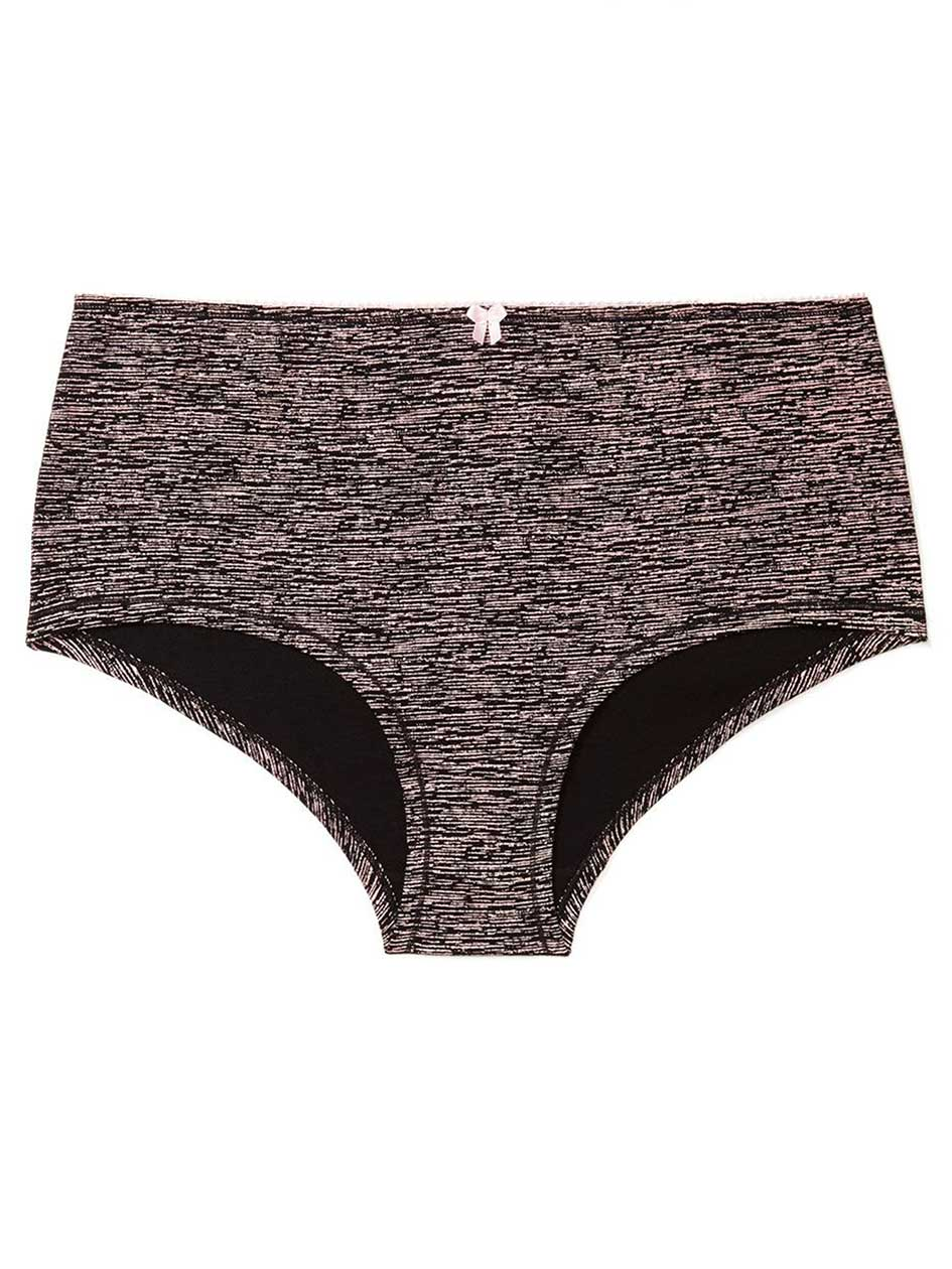 Ti Voglio Space Dye Cotton Boyshort Panty