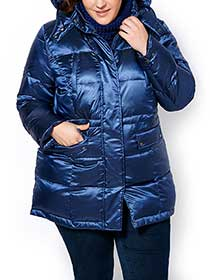 Hooded Puffer Down Coat