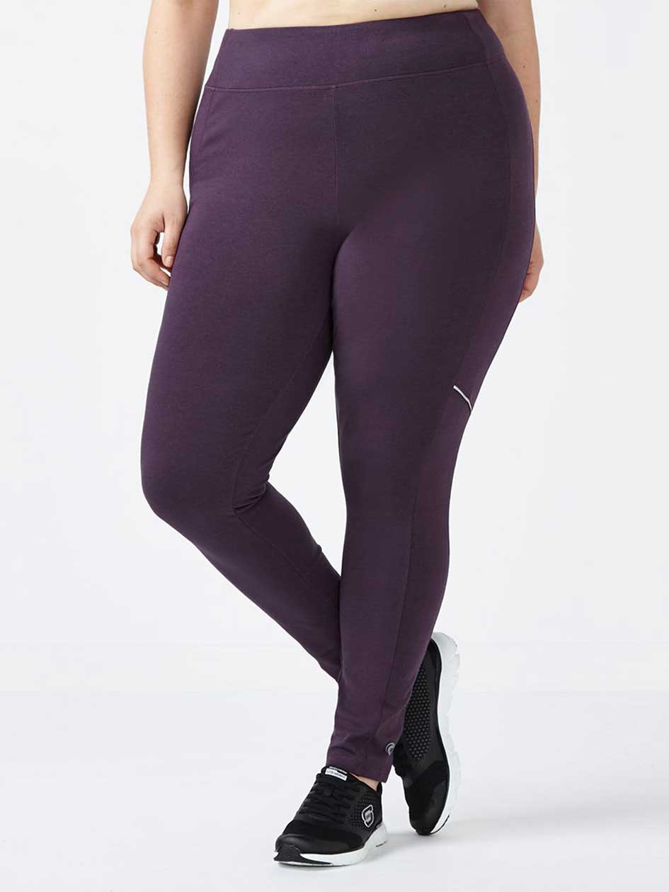 Essentials - Plus-Size Reflective Legging