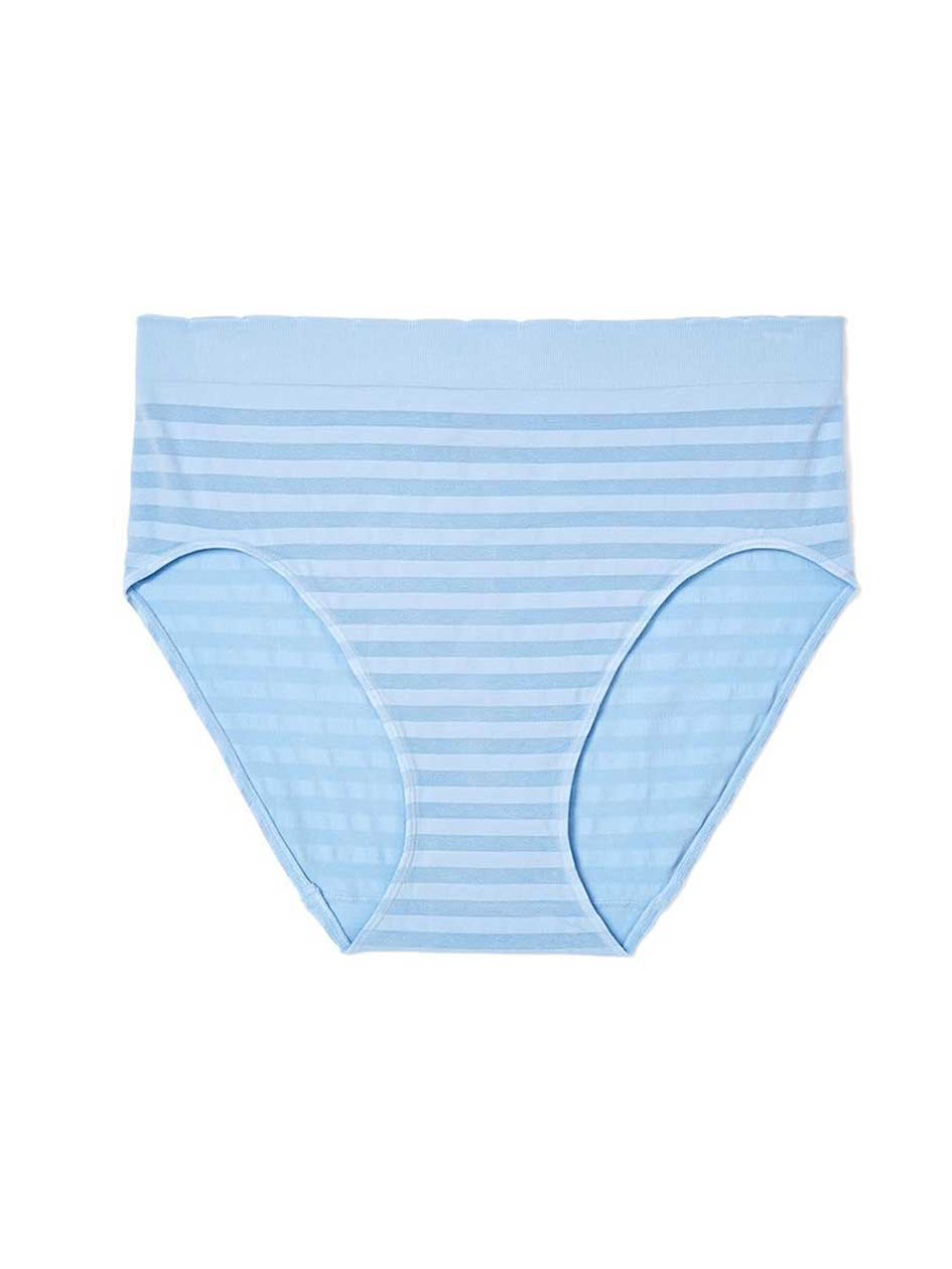 Ti Voglio Striped Seamless Brief Panty