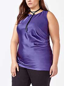 MELISSA McCARTHY Sleeveless Blouse