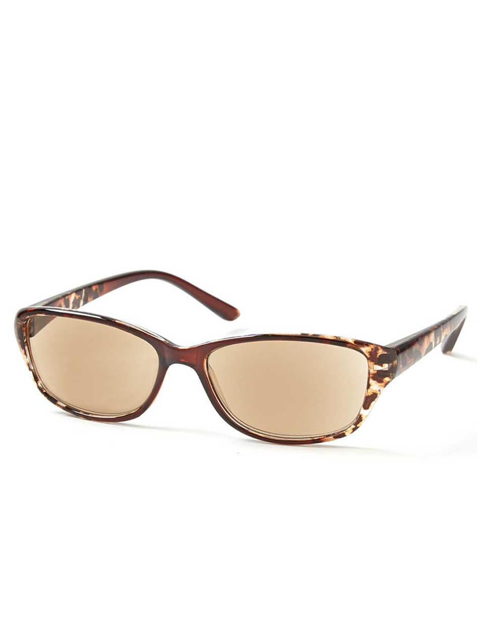 ONLINE ONLY -  Animal Print Reading Sunglasses