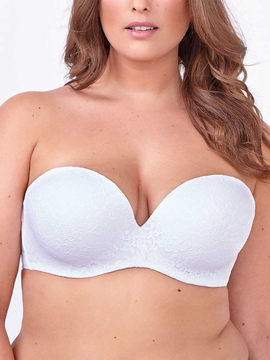 Ti Voglio Strapless Multifunction Bra with Mesh