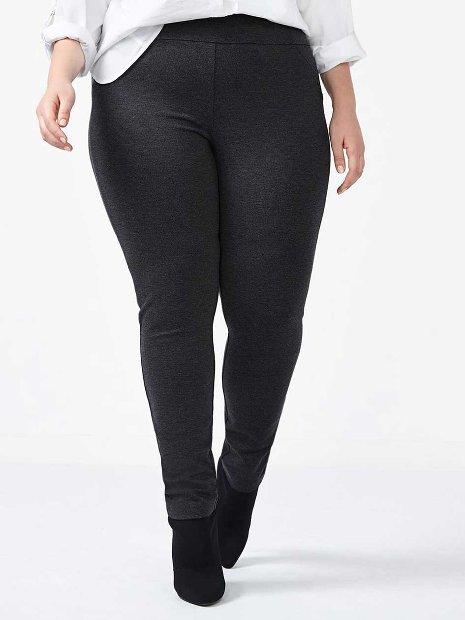 Savvy Patterned Ponte de Roma Legging