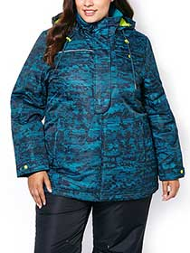 ActiveZone Plus-Size Ski Jacket