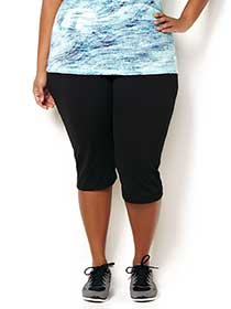 ActiveZone Basic Yoga Capri Pant