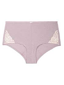 Ti Voglio Boyshort Panty with Lace