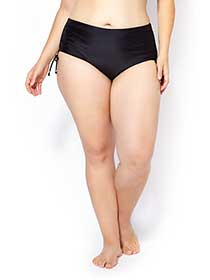 Sea - Hipster Swim Bottom with Ties