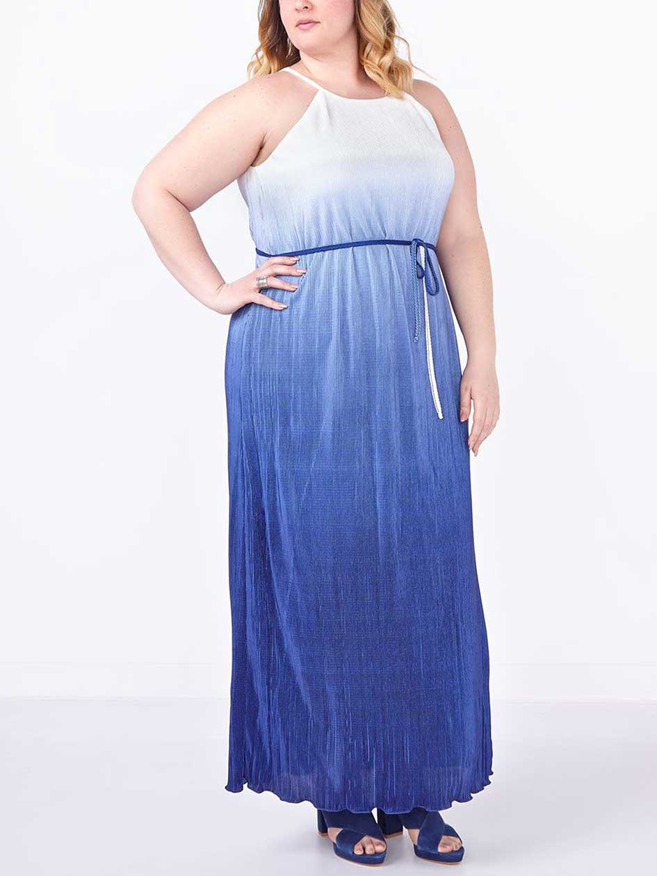 d/c JEANS Sleeveless Ombré Maxi Dress