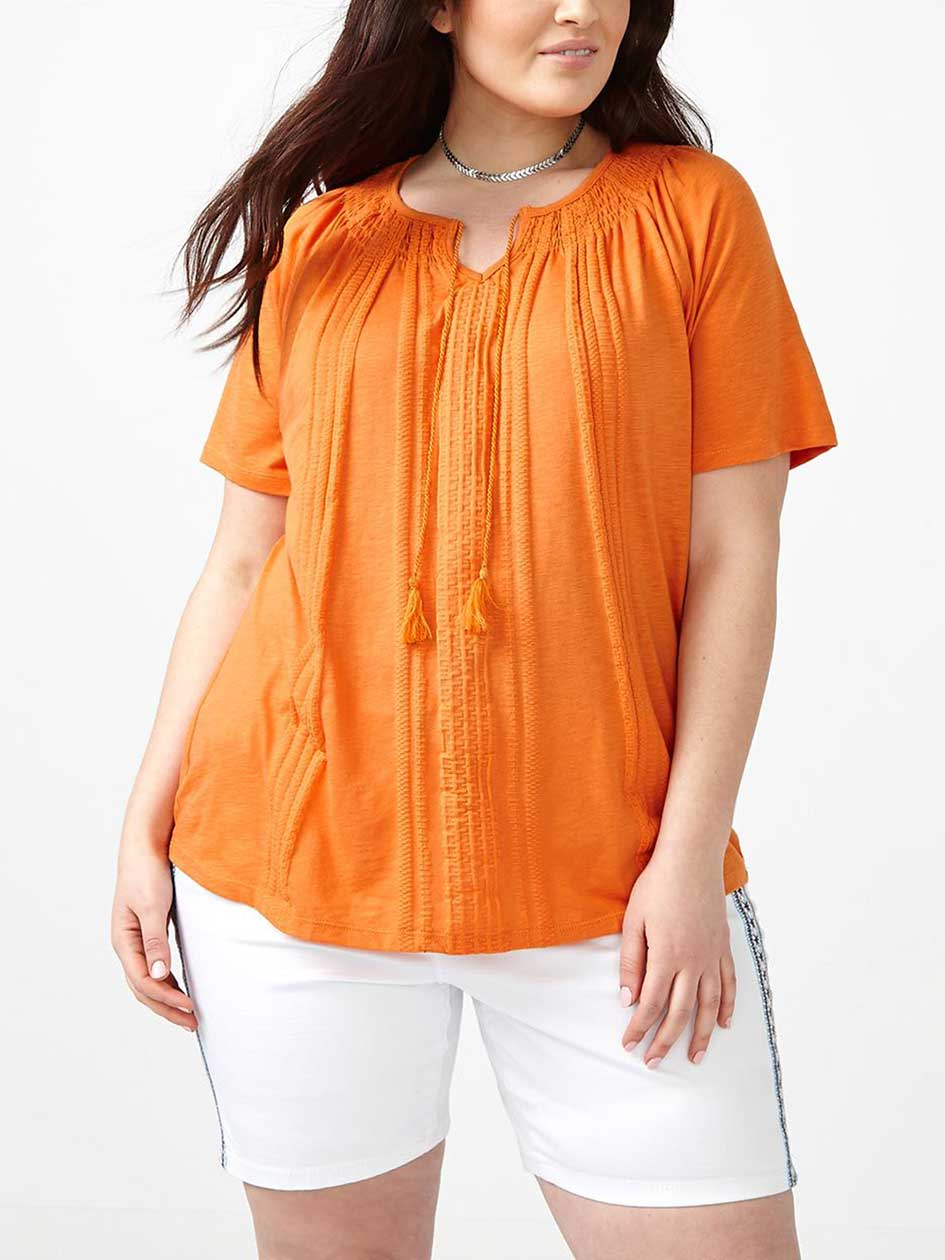 Shaped Fit Peasant T-Shirt