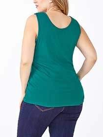 Shaped Fit Basic Tank Top