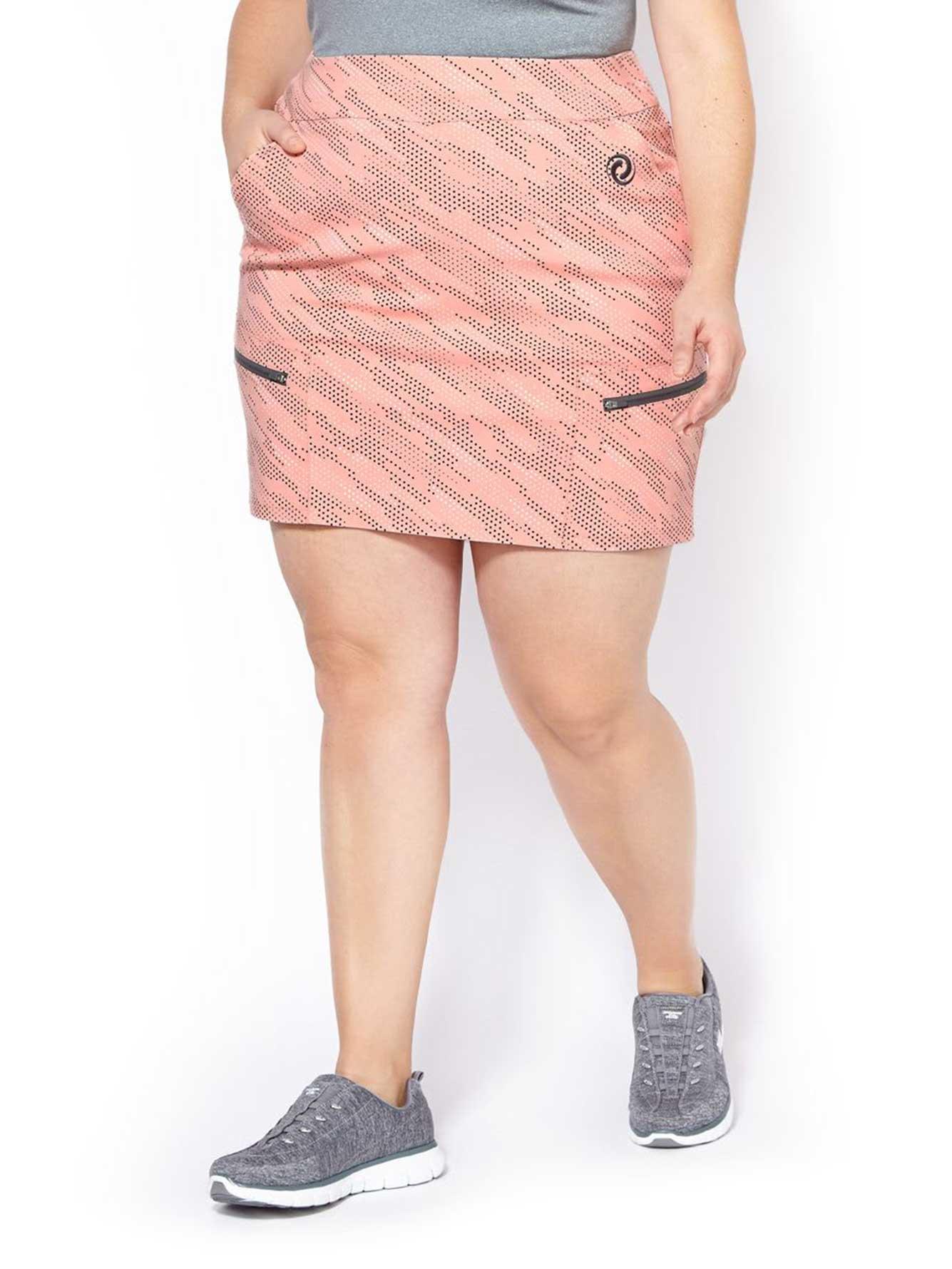 sports jupe culotte de golf taille plus imprim e penningtons. Black Bedroom Furniture Sets. Home Design Ideas