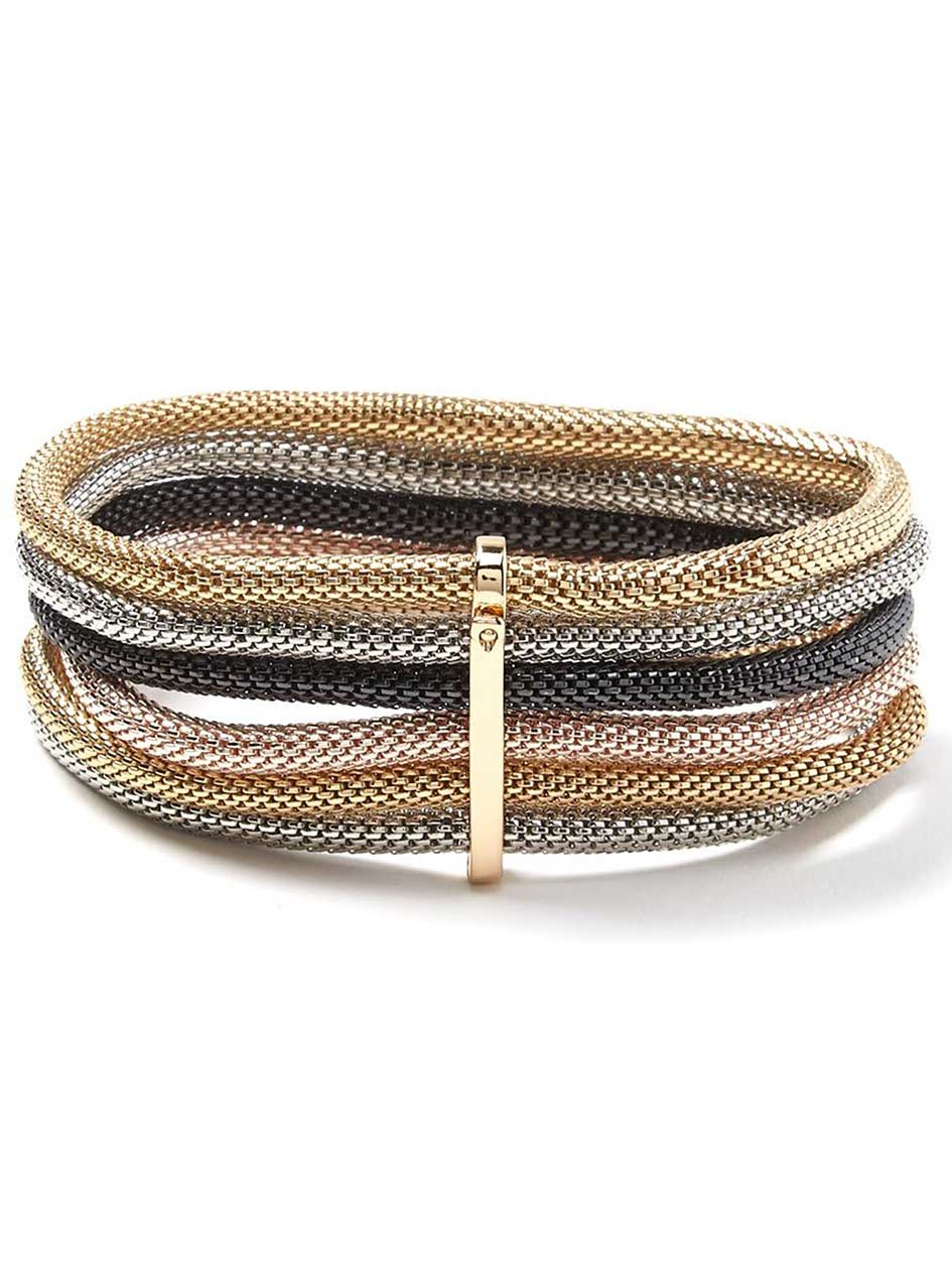 Multi-Row Snake Chain Bracelet