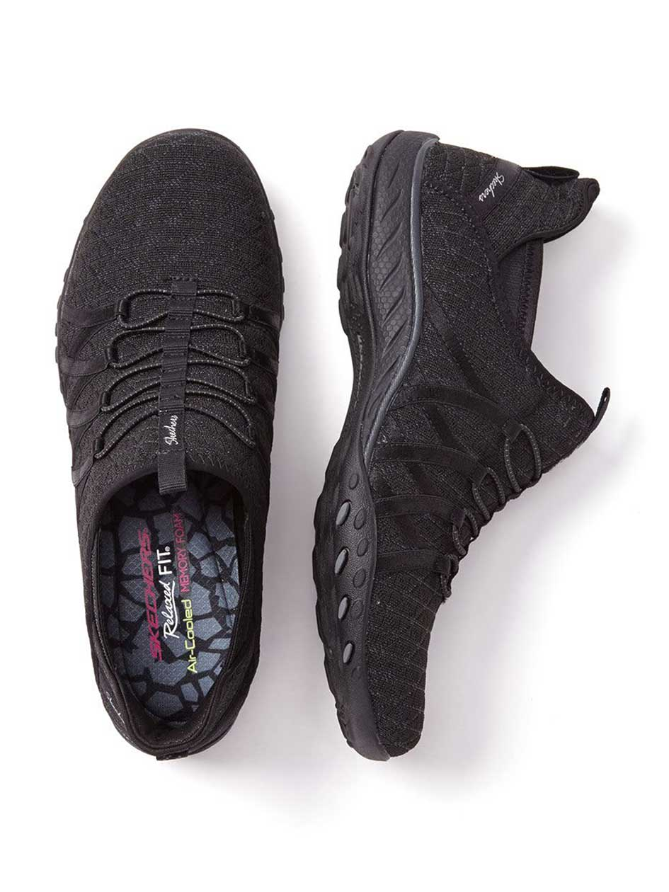Skechers Wide-Width Relaxed Fit Sneakers