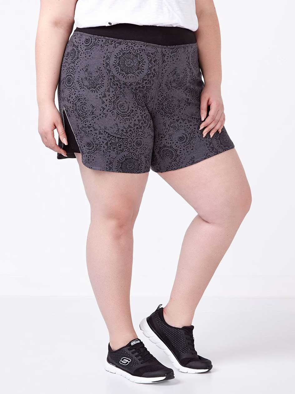 Essentials - Plus-Size Short with Mesh