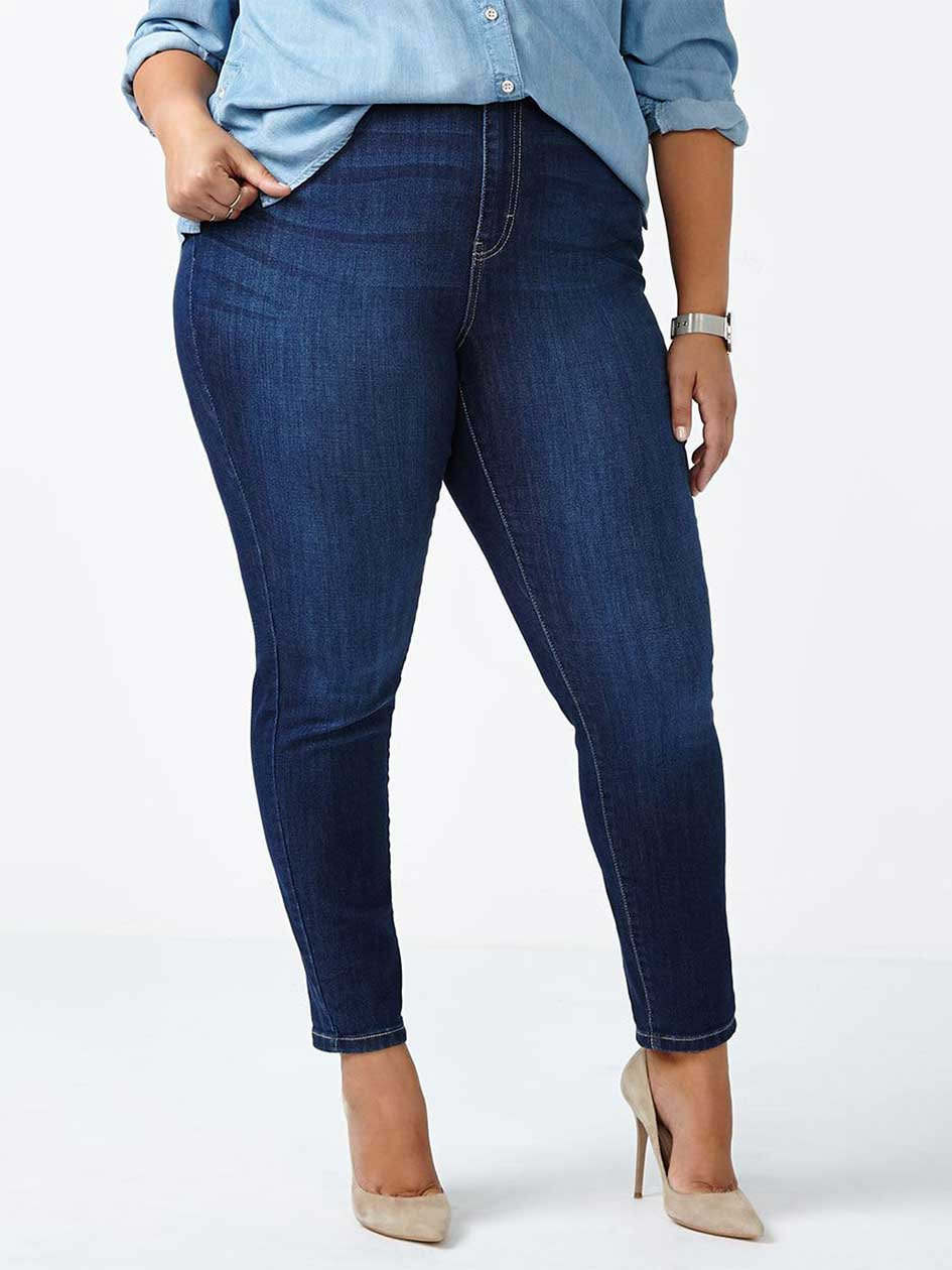 ONLINE ONLY - d/c JEANS Tall Curvy Fit Skinny Jean