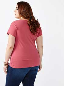 Layering Fit V-Neck T-Shirt