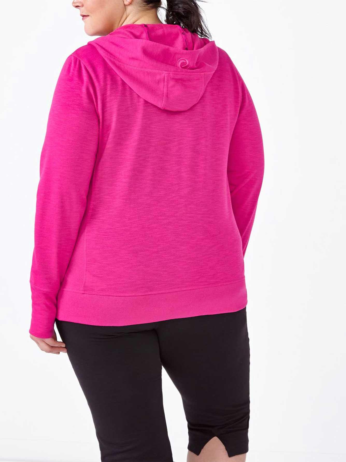 Plus size zip up hoodies