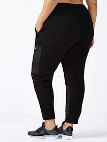 Sports - Pantalon de jogging taille plus en molleton