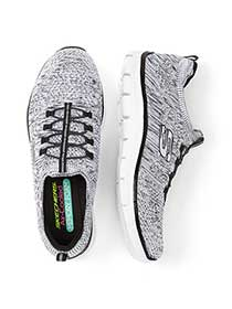 Skechers Wide-Width Two-Toned Sneakers