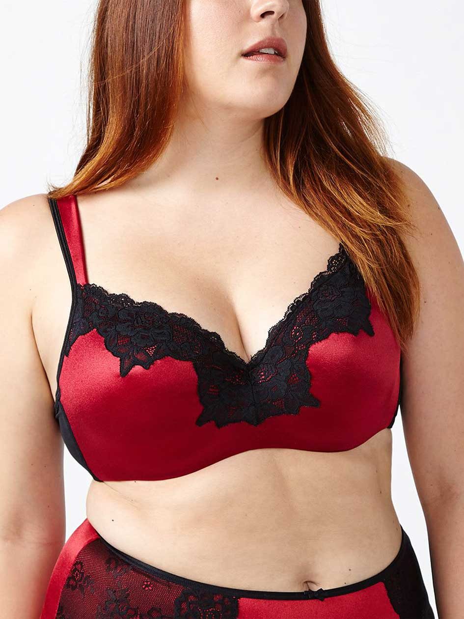 Ti Voglio - Padded T-Shirt Bra with Lace