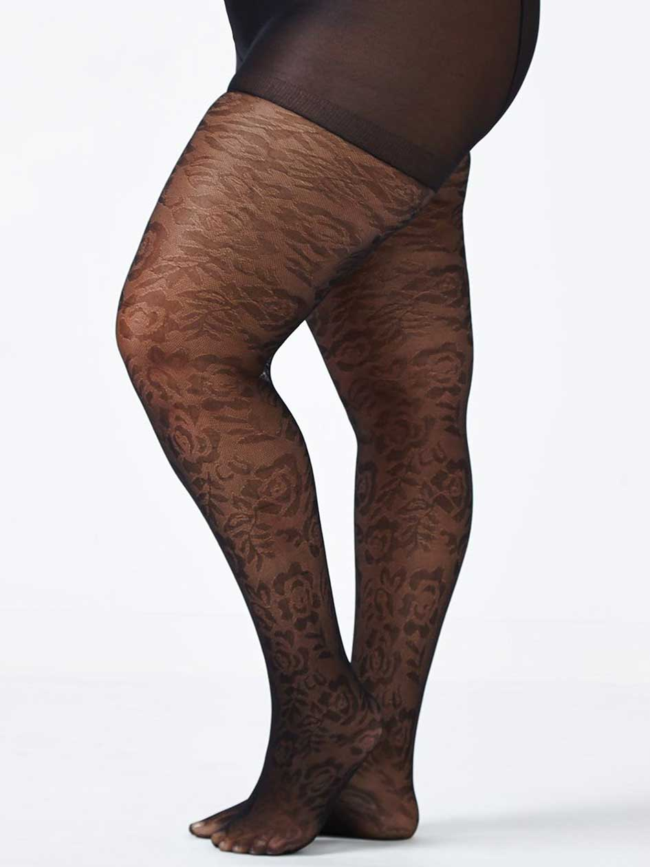 Basic Patterned Tights