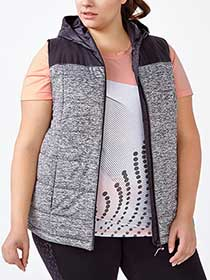 ActiveZone Plus-Size Packable Vest