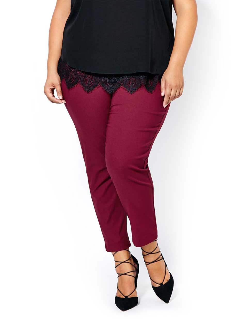 Savvy Fit Slim Leg Coloured Ankle Pant