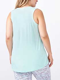 Ti Voglio Lace Up PJ Tank Top