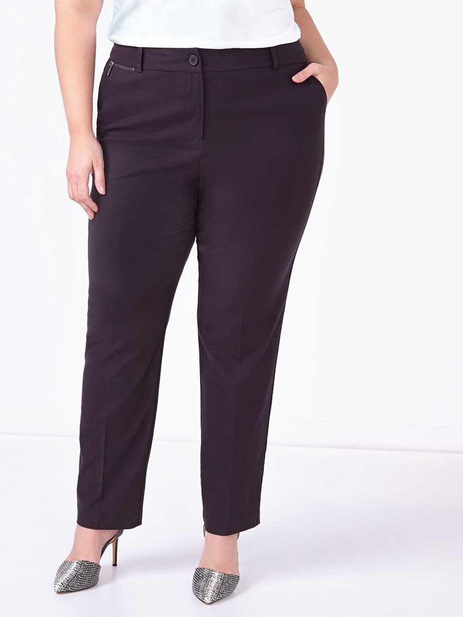Slightly Curvy Fit Straight Leg Pant