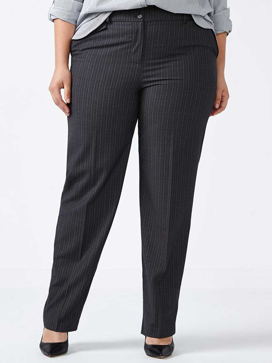 ONLINE ONLY - Tall Straight Fit Straight Leg Striped Pant