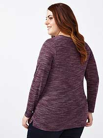 Curve Fit Long Sleeve T-Shirt