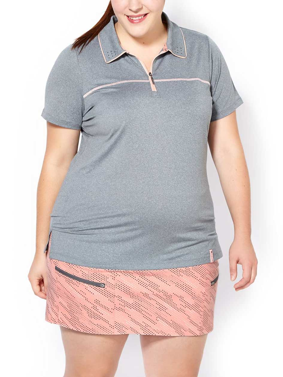 Sports - Plus-Size Golf Polo Shirt