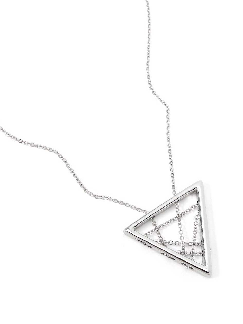 Necklace with Triangle Pendant