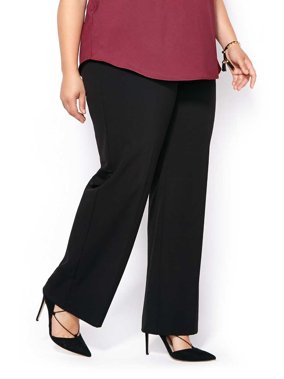 Curvy Fit Wide Leg Pant