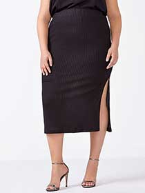 Ribbed Skirt
