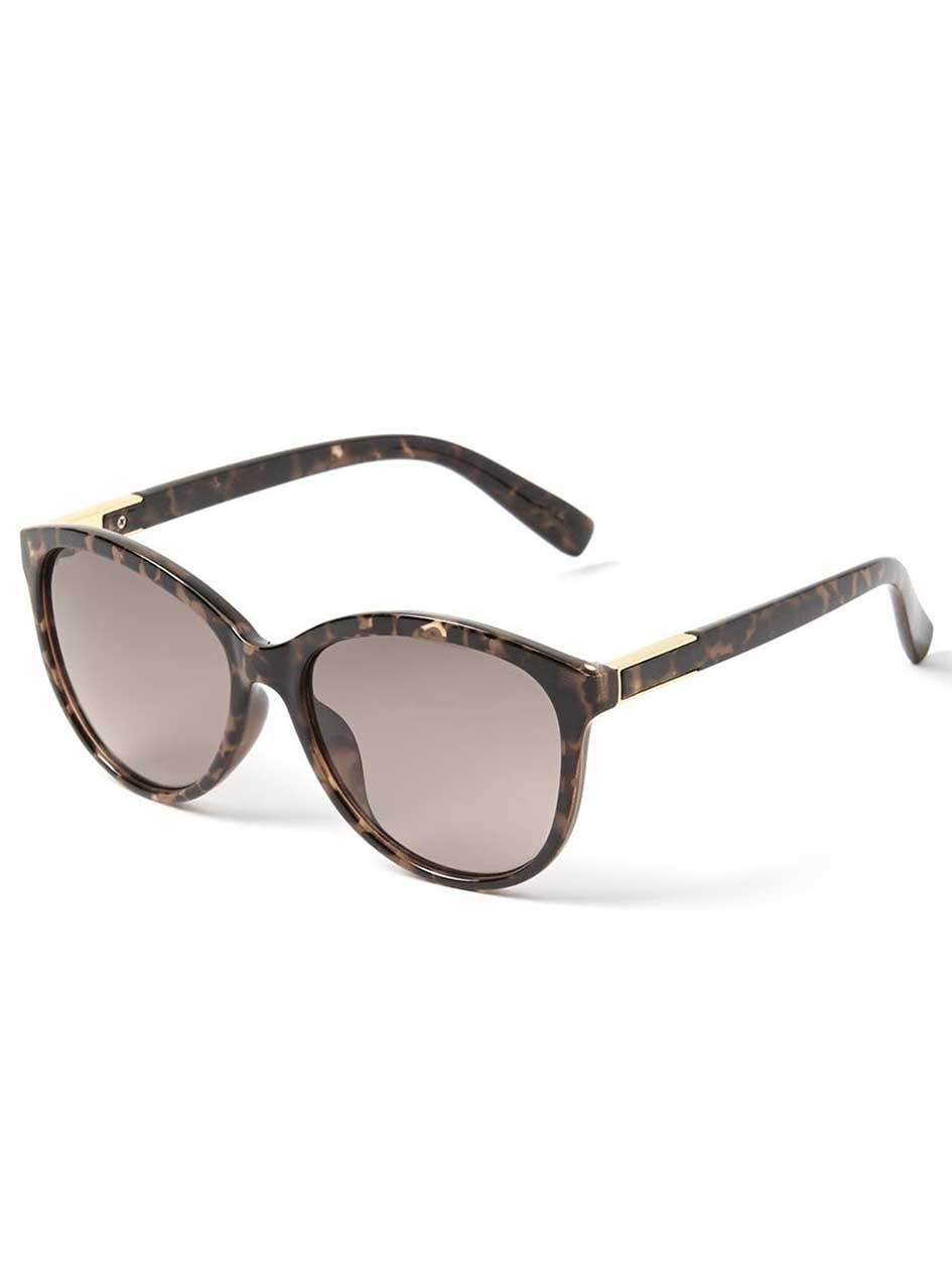Tortoise Shell Retro Sunglasses