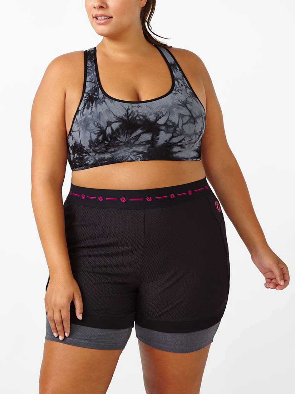 ActiveZone Printed Seamless Bralette