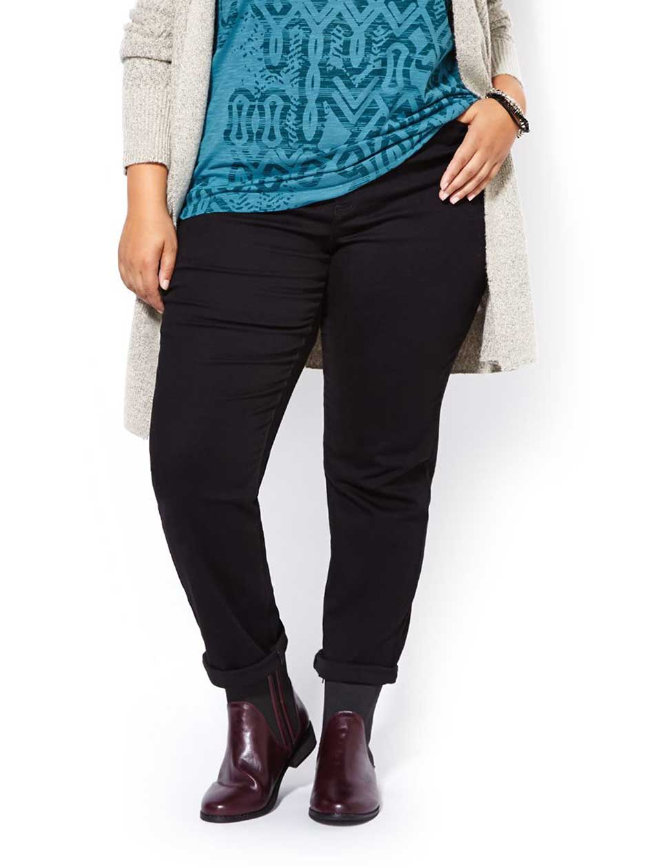d/c JEANS Slightly Curvy Fit Straight Leg Jean