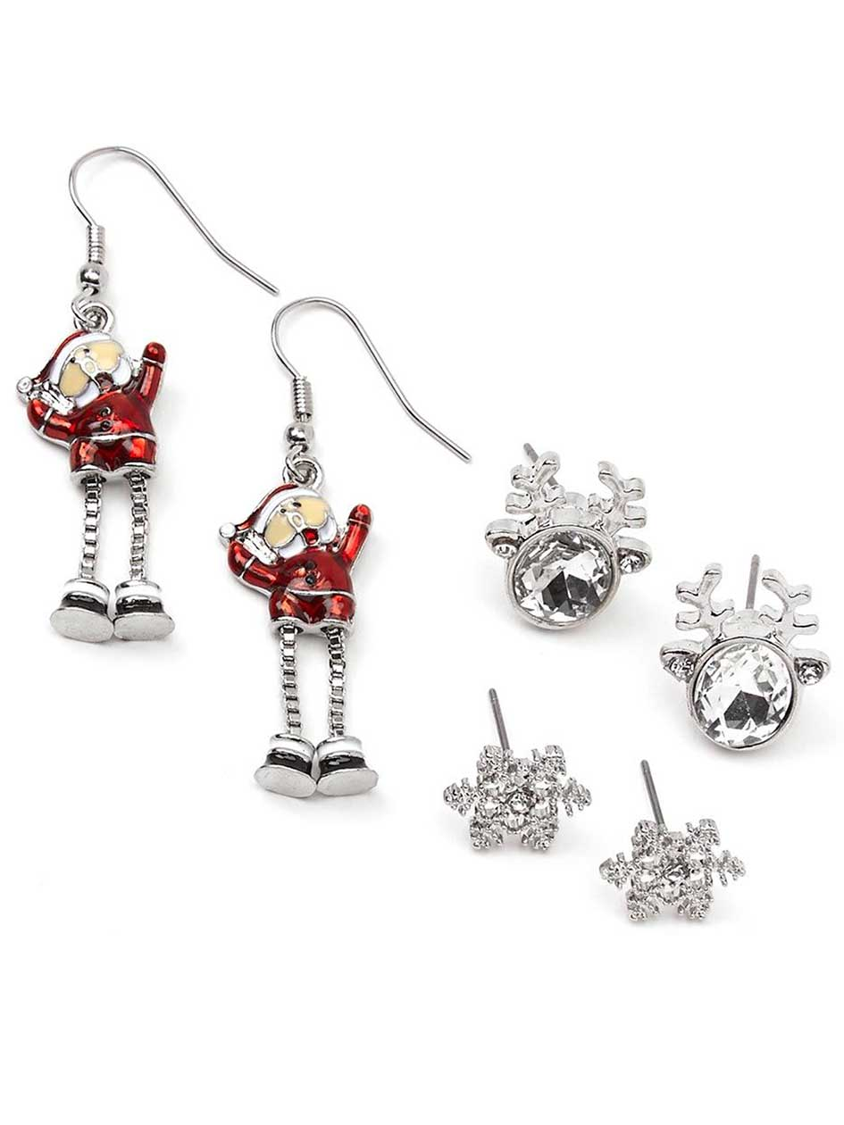 Set of Holiday Earrings