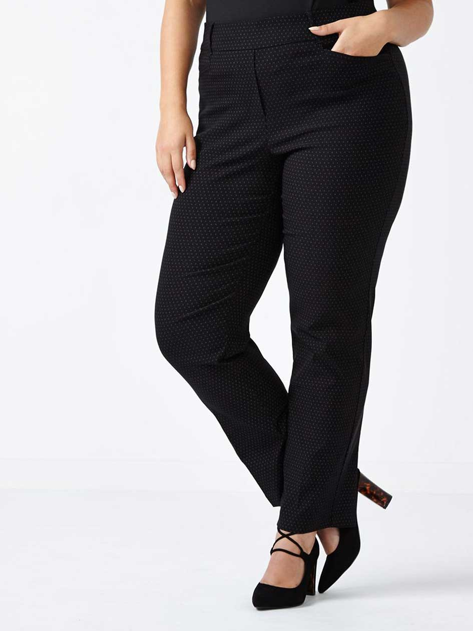 ONLINE ONLY - Tall Savvy Soft Touch Straight Leg Printed Pant