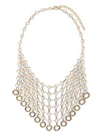 Short Mix Metal Necklace