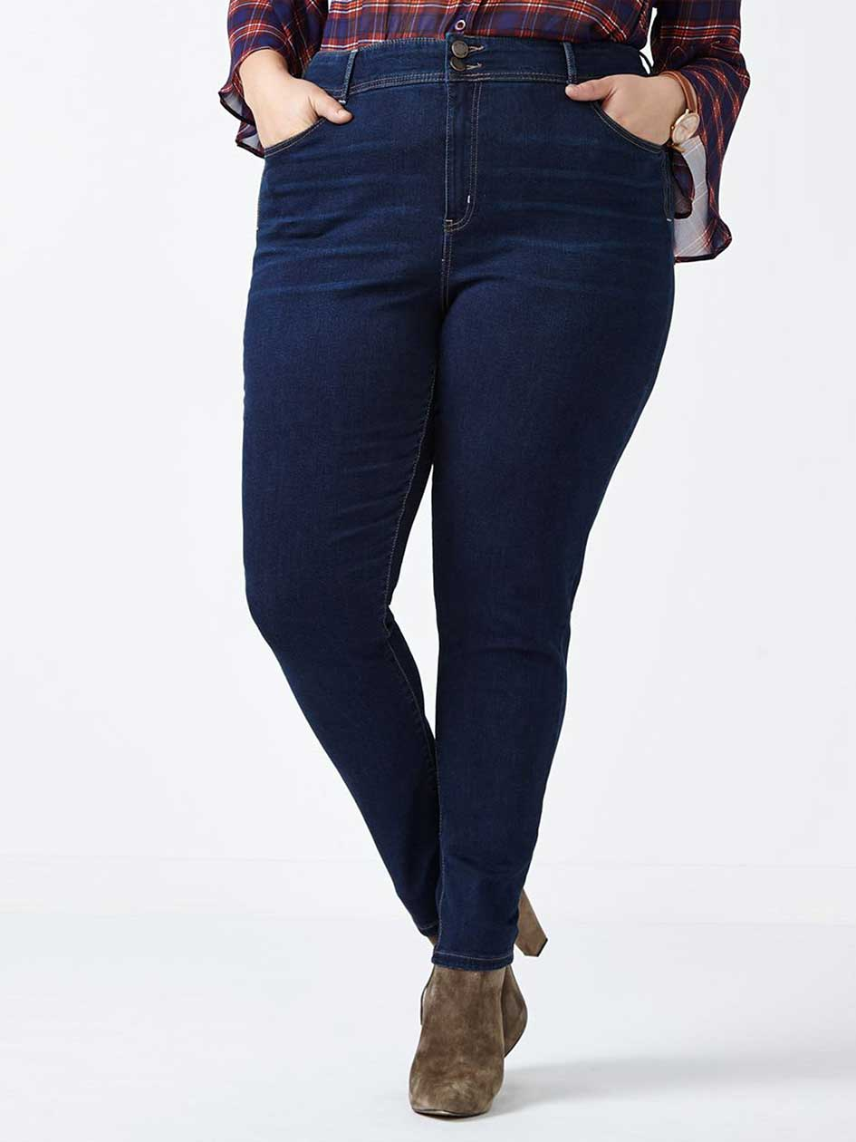 ONLINE ONLY - d/c JEANS Slightly Curvy Fit High Waist Skinny Jean
