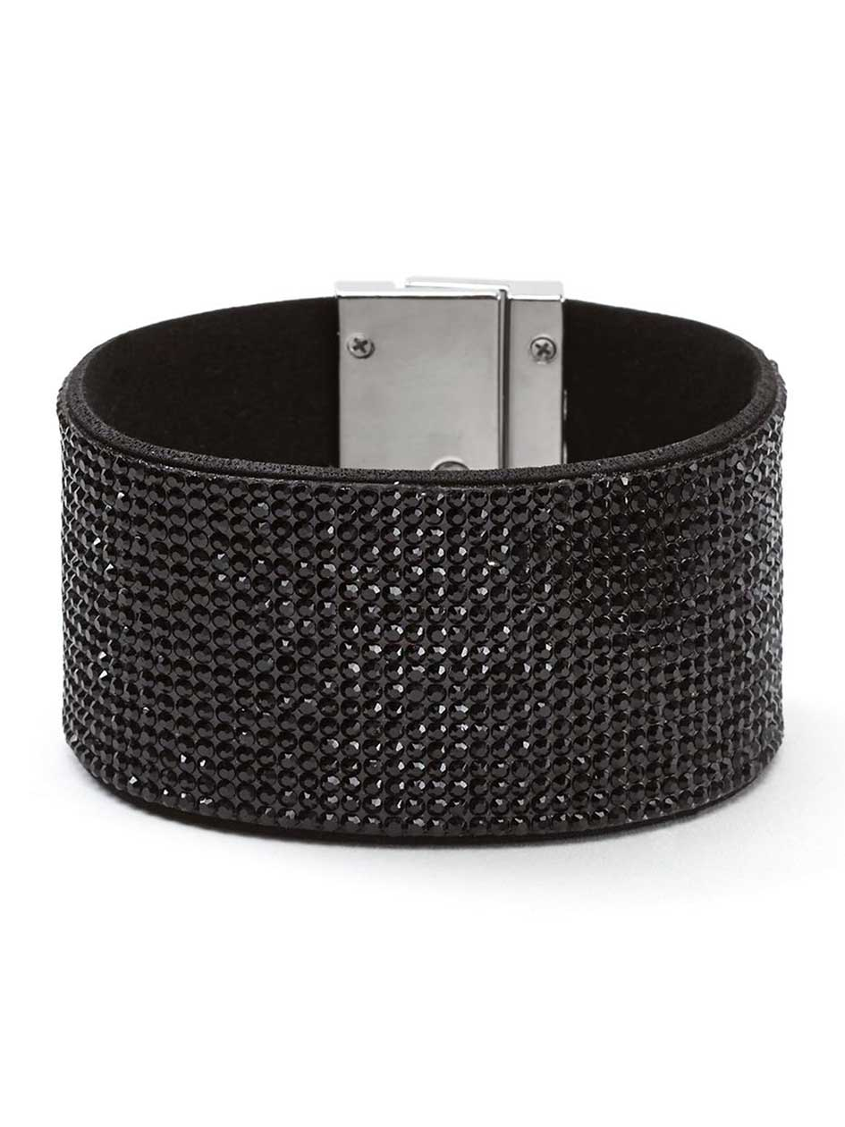 Large Cuff Bracelet with Lock Closure