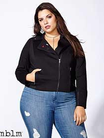 mblm Ponte Jacket with Pins