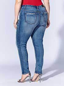 Tess Holliday - Skinny Distressed Jean