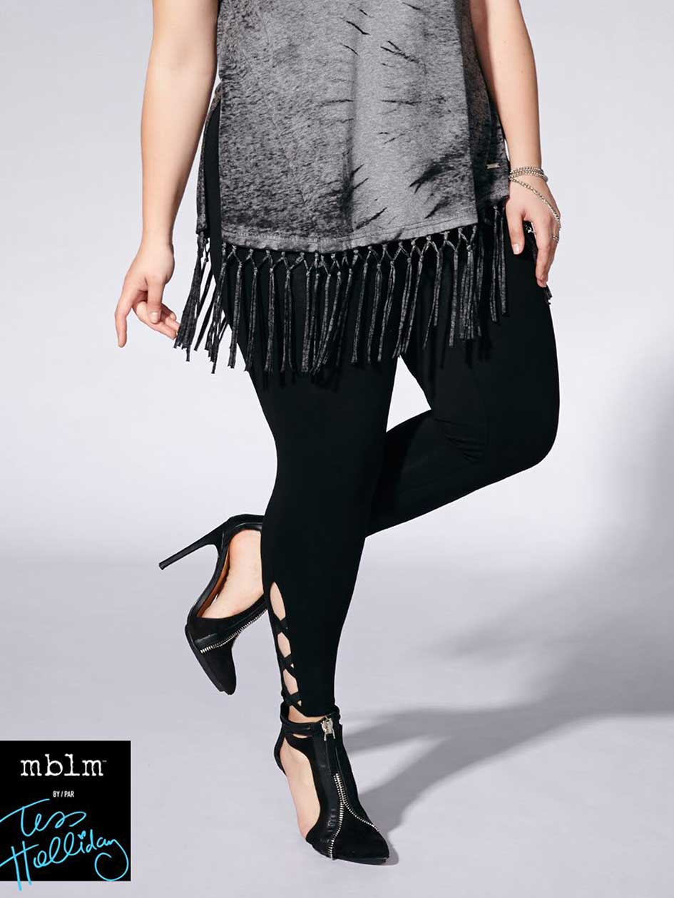 Tess Holliday - Legging with Criss-Cross Detail
