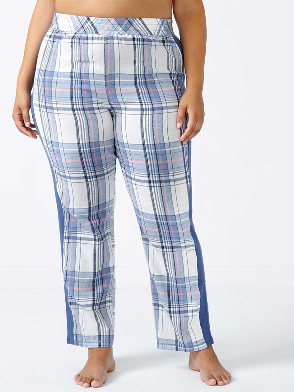 Ti Voglio Plaid Flannel Cotton PJ Pant